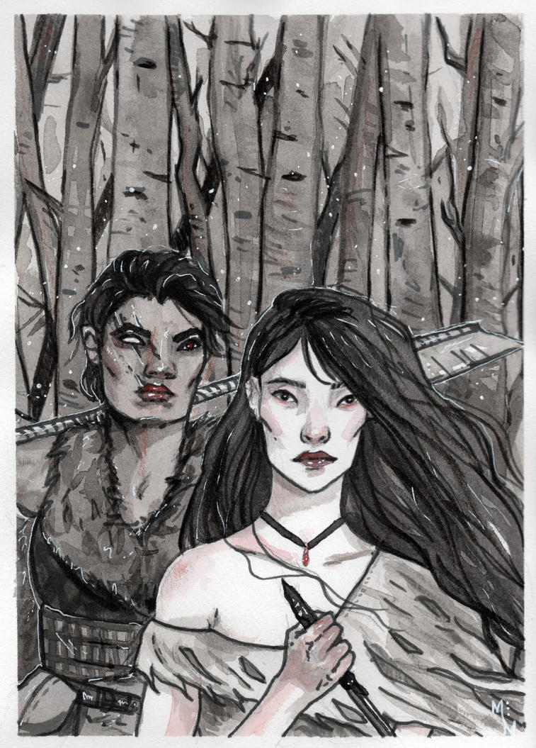 Snow White and the Huntswoman by MirriamElin