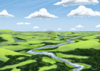 Hills of Ellashiia by Freha