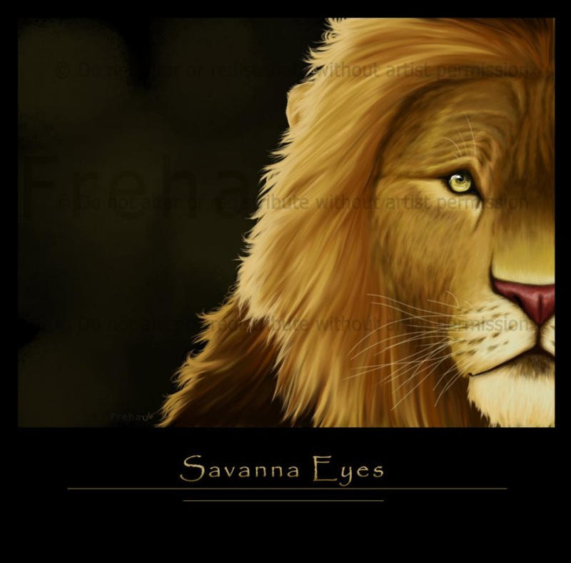 Savanna Eyes by Freha