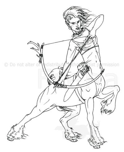 Centaur Drawings besides Chimera The Monstruous Fire Breathing Creature additionally Beautiful Centaur Lady Coloring Page as well Just Another Dragon besides Animals. on centaur half man horse