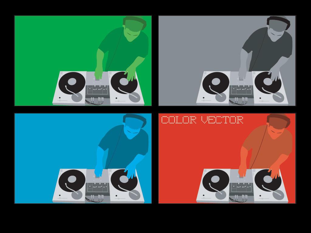 DJ Vectors by yachtclub