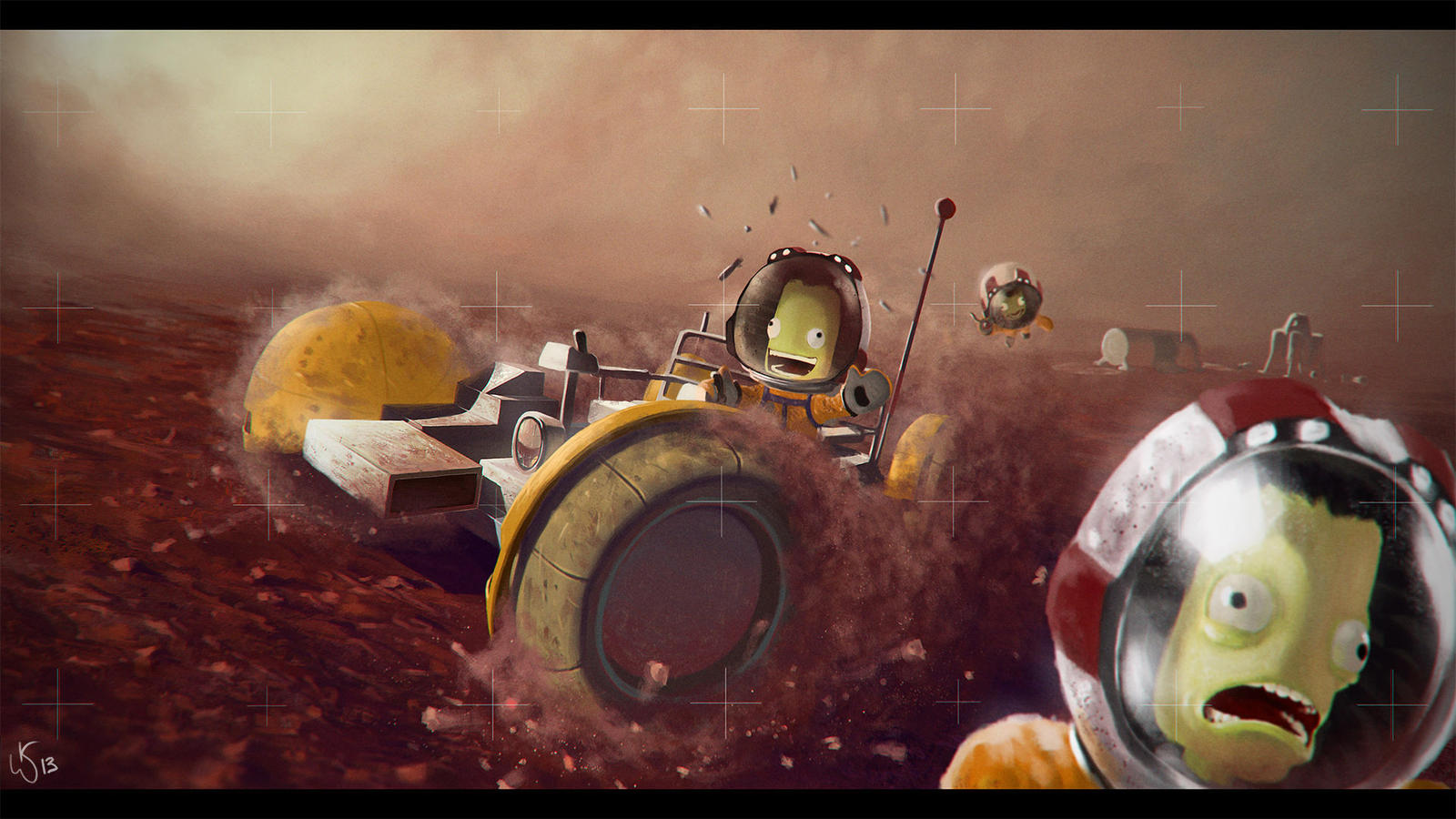 Who gave Jeb the keys?! by 5kypainter