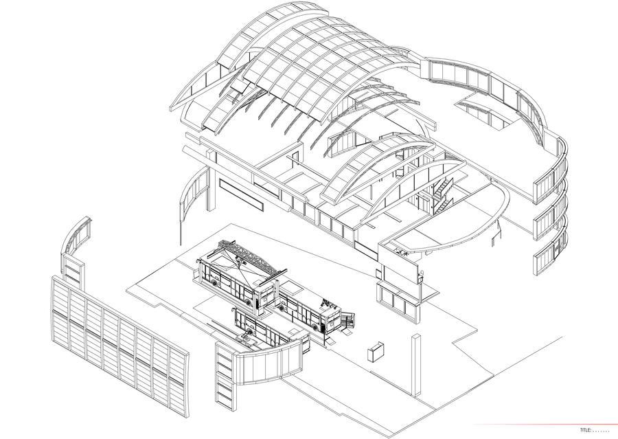 Bus Garage- Design Development 4 by georgewilliams27