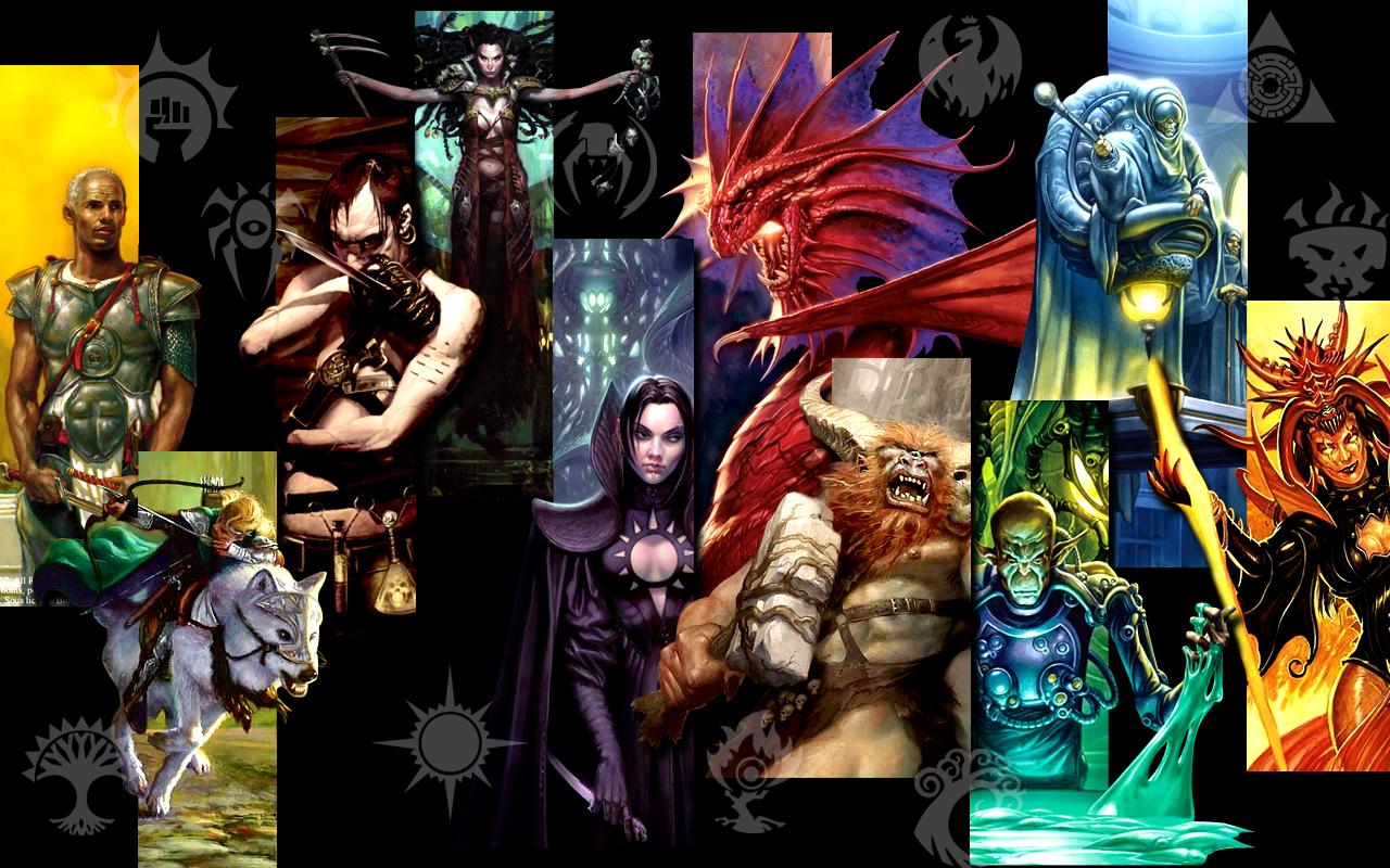 Mtg guilds wallpaper