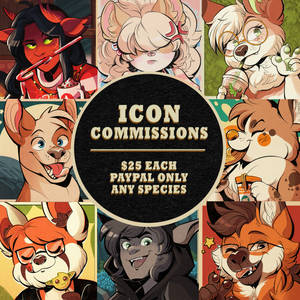 [OPEN] Icon Commissions