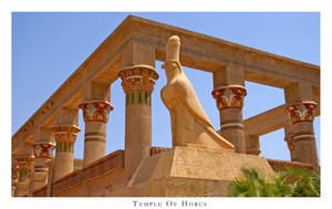 Temple Of Horus by SilverAnubis