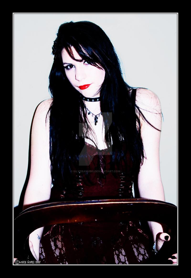 Goth Beauty by SilverAnubis