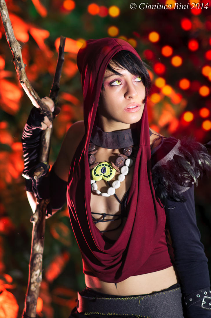 Morrigan - Dragon Age by GianlucaBini