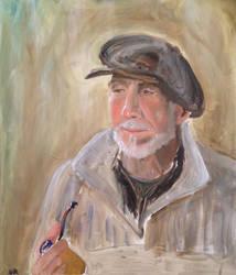 Oil portrait course project 2 by nealromanek