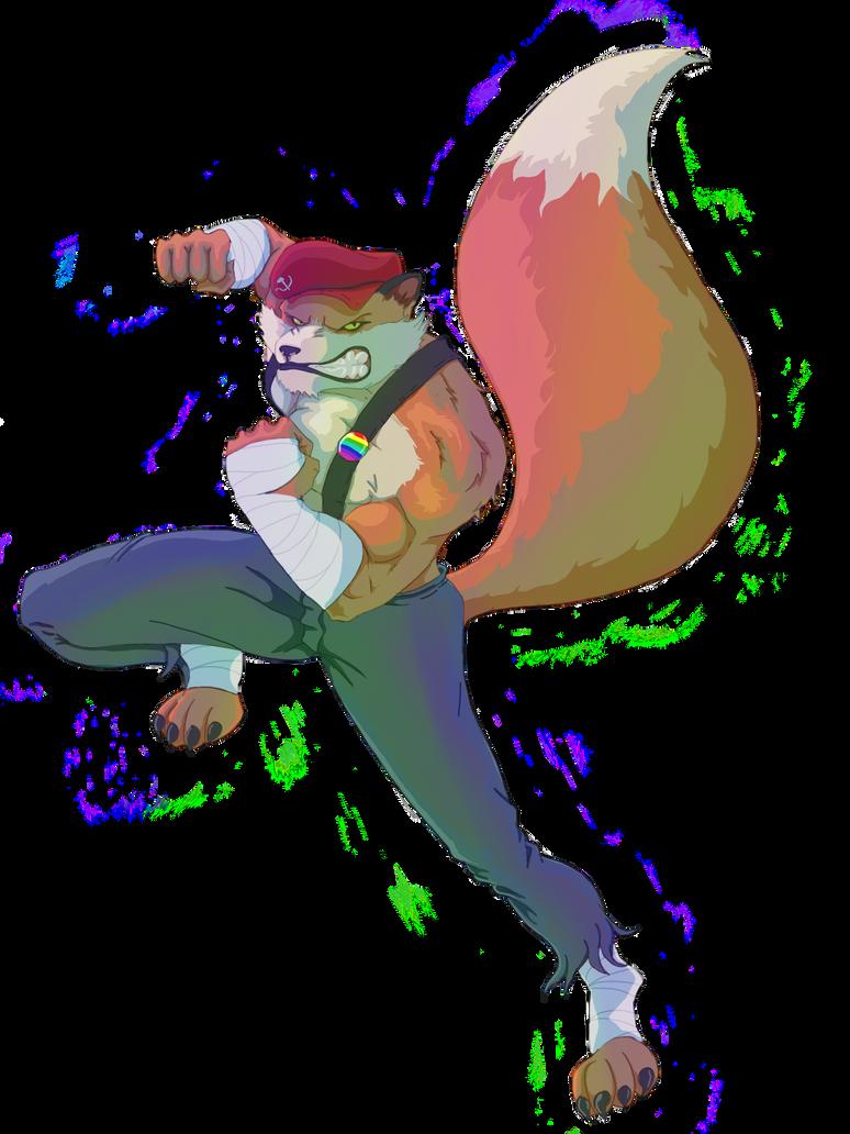 Fulpen the FOX by MIKE-RAYN3R