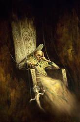 seer of the throne by michaelryanart