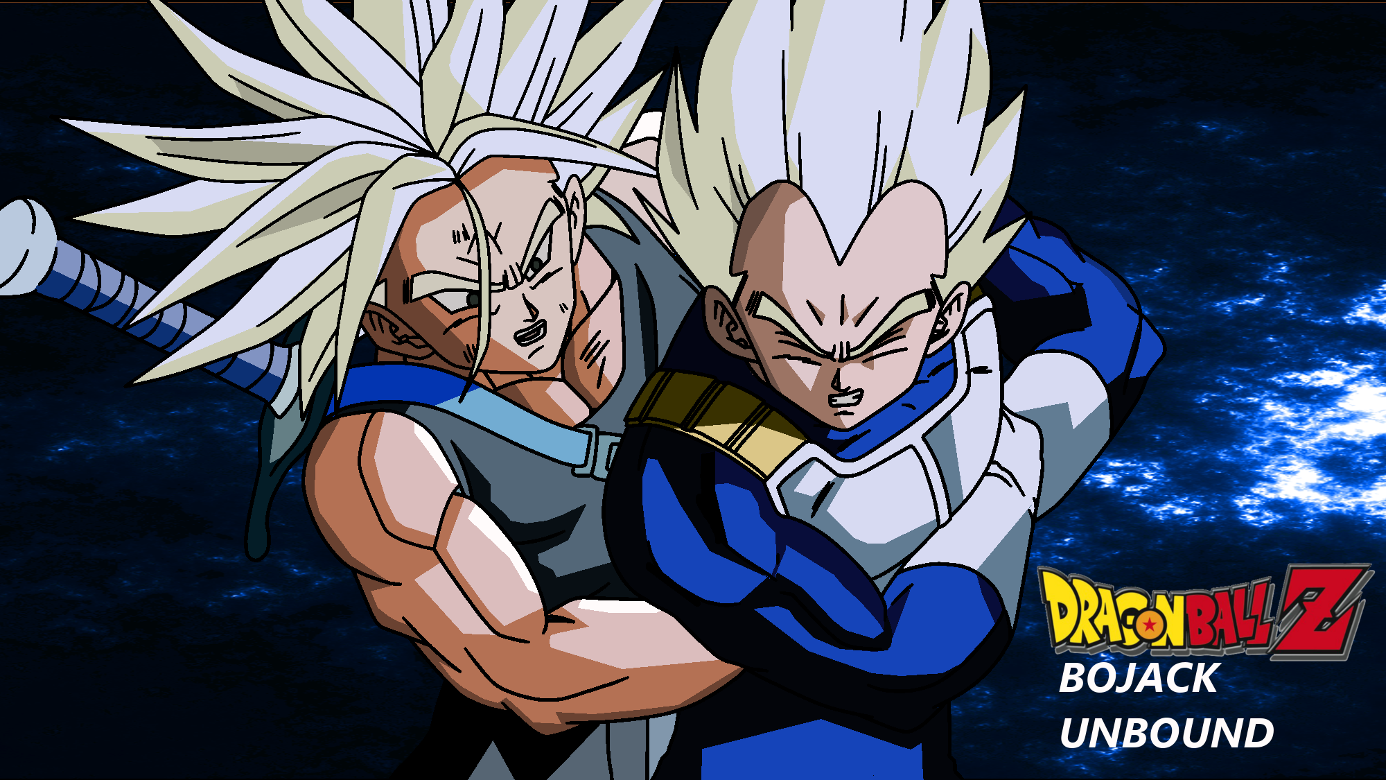 DBZ Bojack Unbound Vegeta and Trunks by Tp1mde on DeviantArt