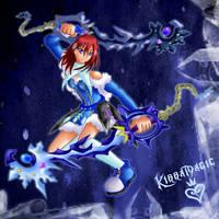 Kairi the ice storm of wisdom by Lrme87