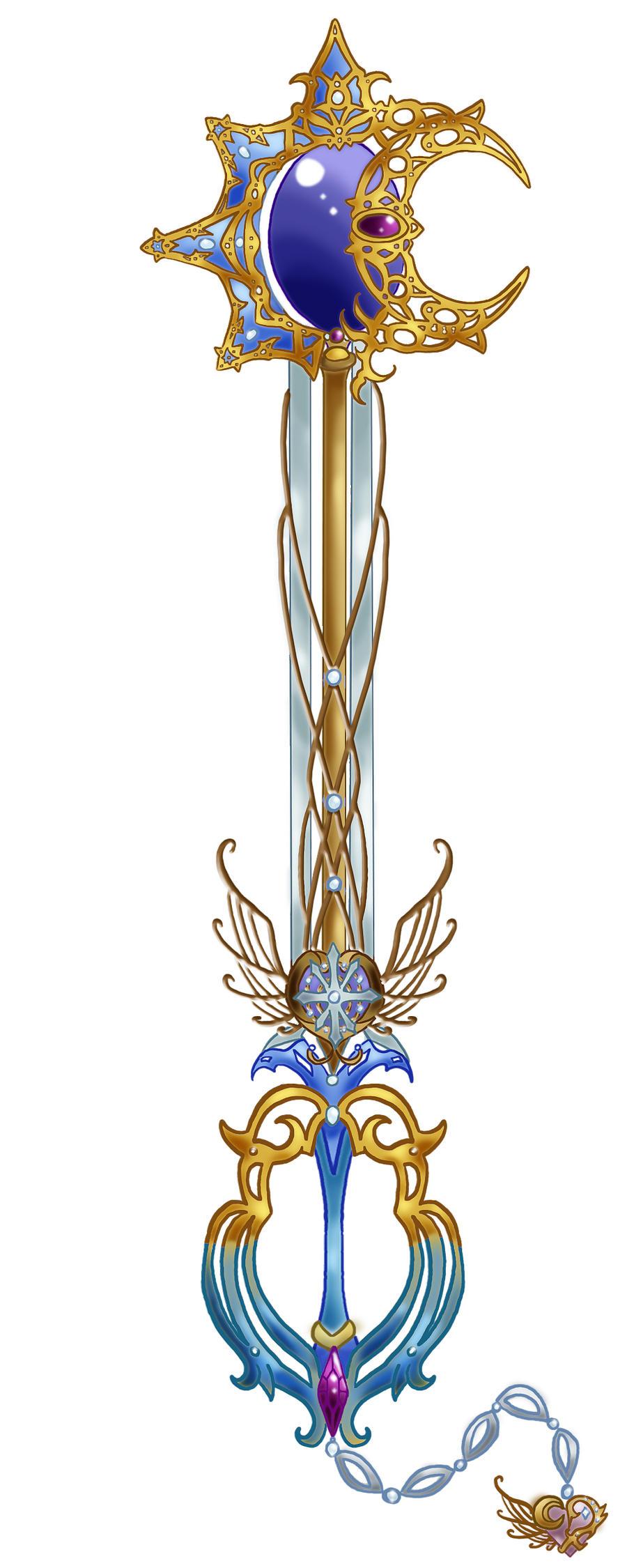 The Lunaticus Estella keyblade by Lrme87 on DeviantArt
