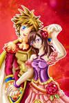 Sora x Kairi warm embrace