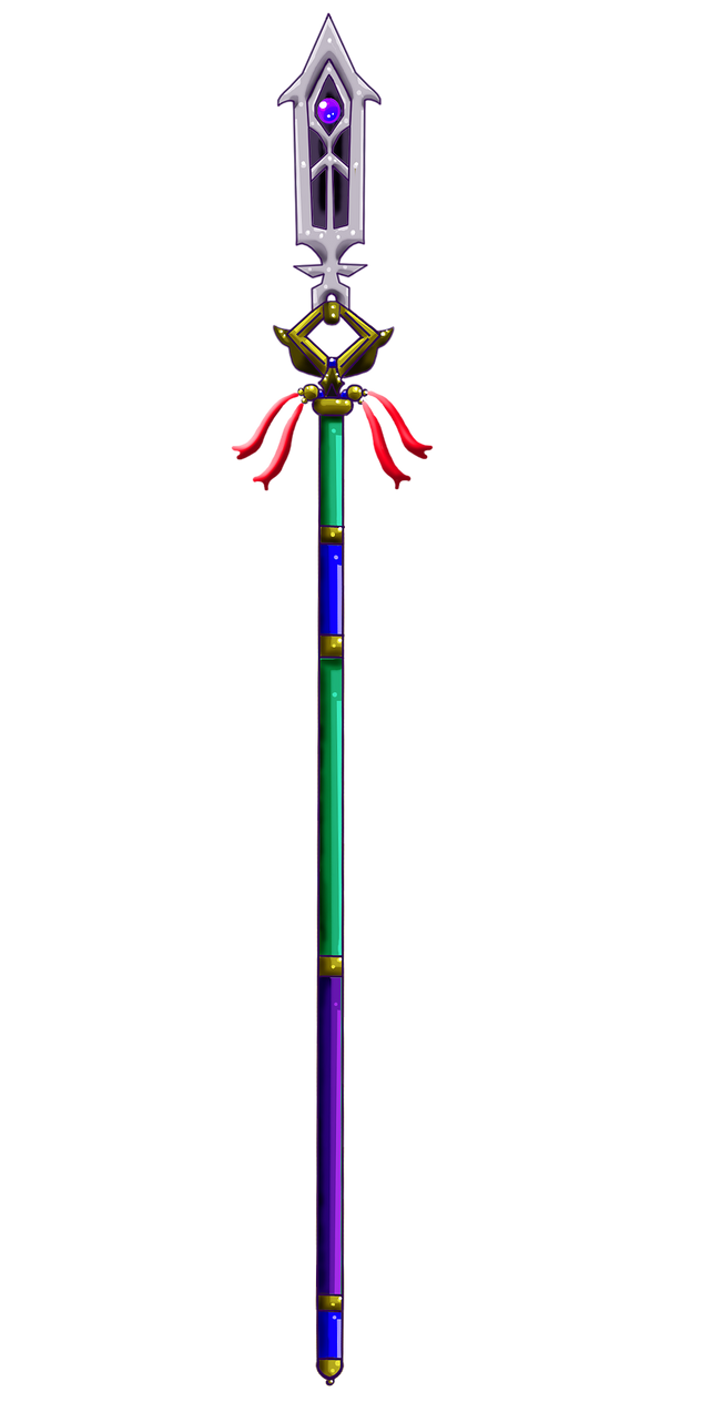 The Levitator's Spear by Lrme87