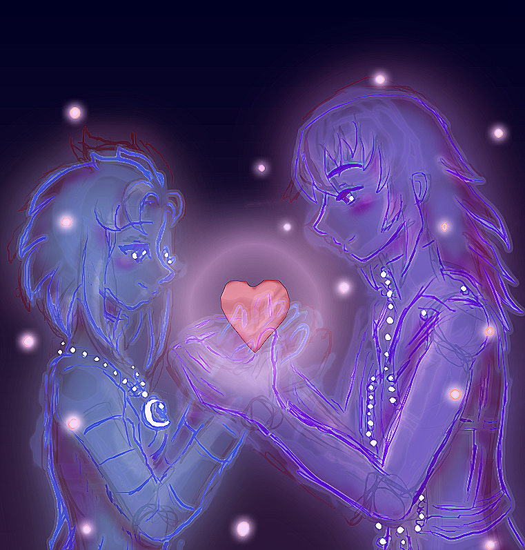 Noziku Day: Glowing Heart by Lrme87