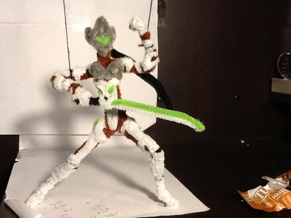 Overwatch Genji by carlomejia03