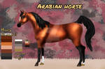 [OPEN] Horse adopt auction - Arabian horse by Victory555