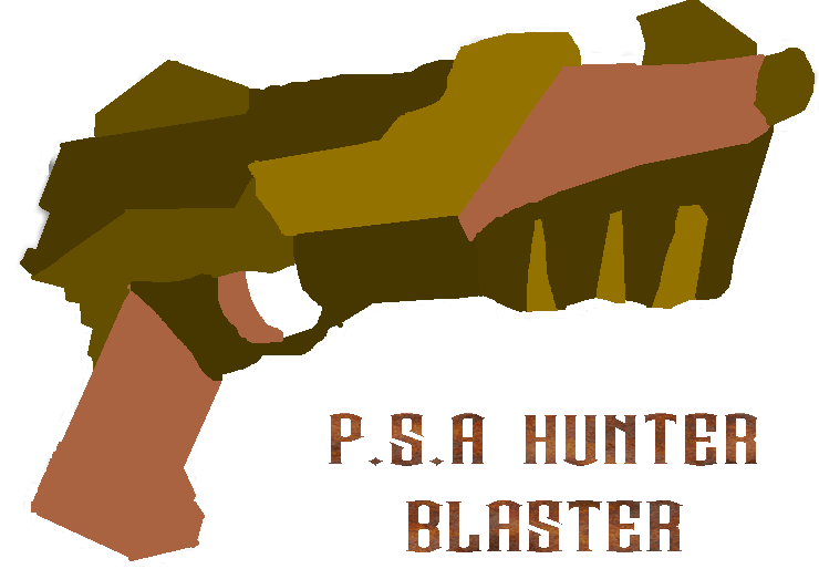 Psa Hunter Blaster Colour by alespanda