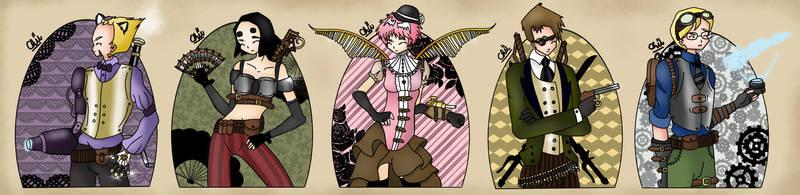 Code Lyoko: Steampunk by toastedCroissants