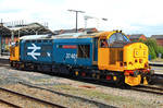 Class 37 (37401) Mary Queen of Scots by DrMadStudio