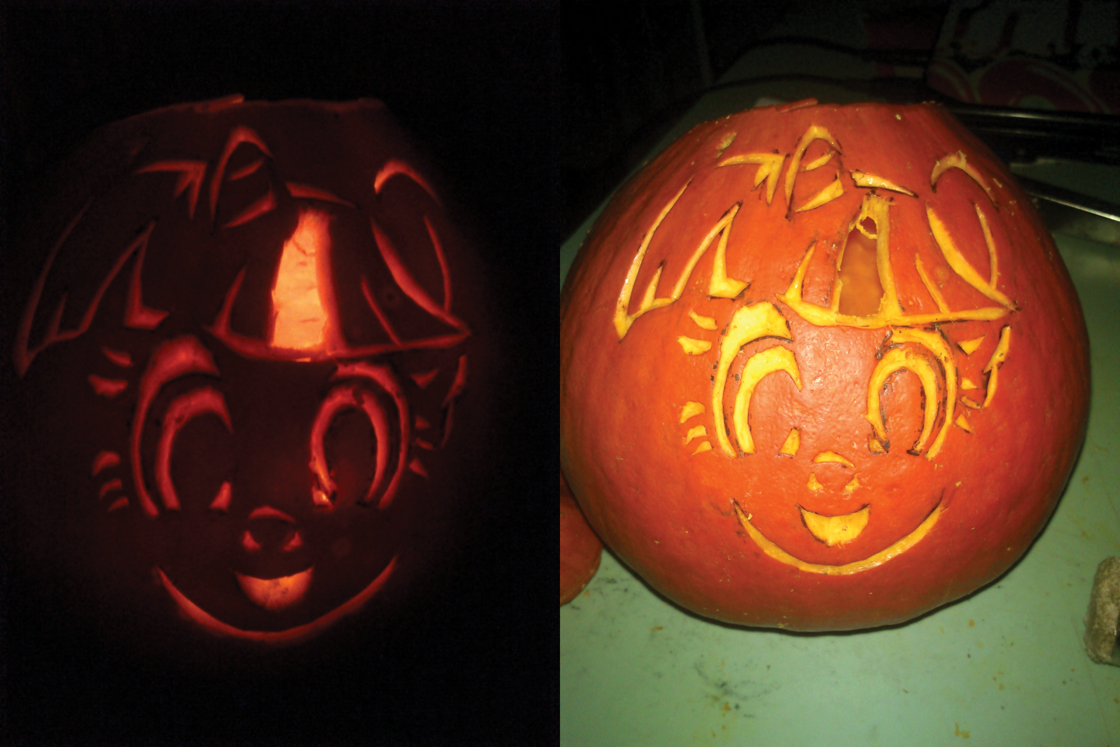Twilight Sparkle Jack o' lantern by varijani
