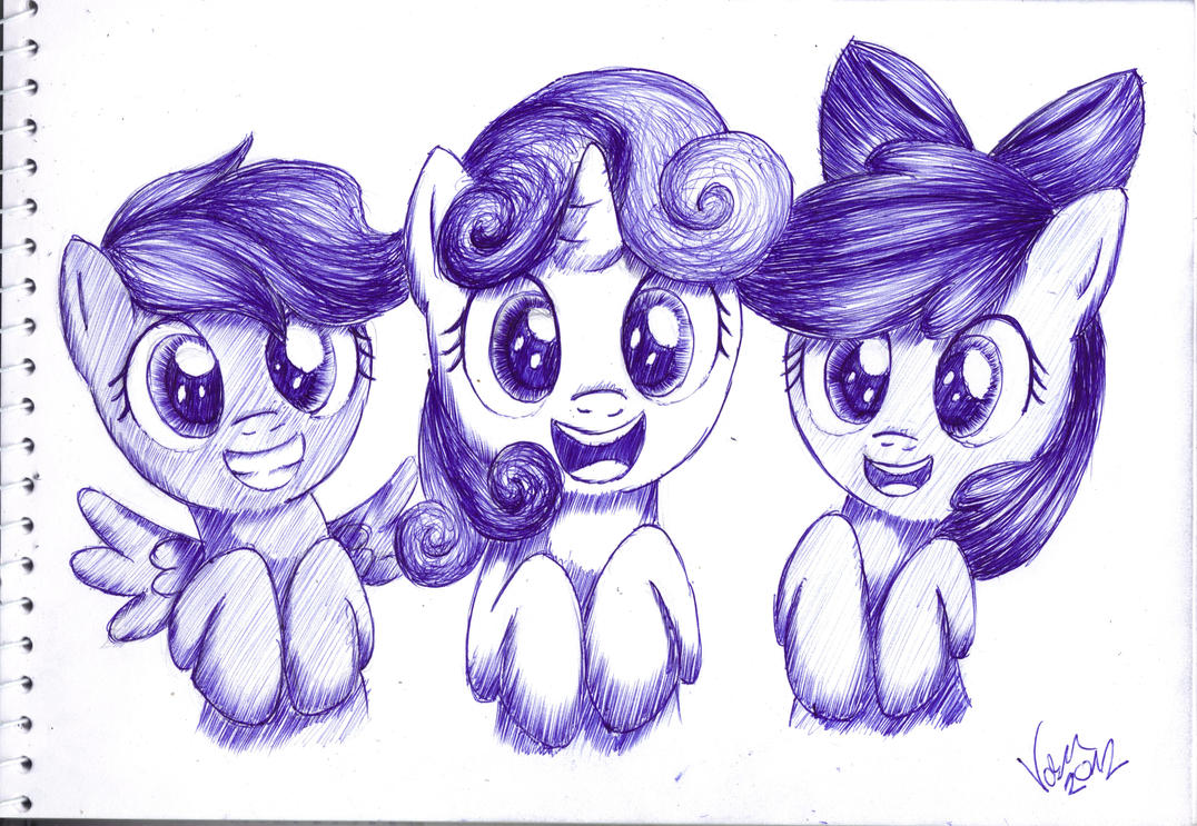 Cutie Mark Crusaders by varijani