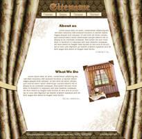 Curtain Website by mastdesign