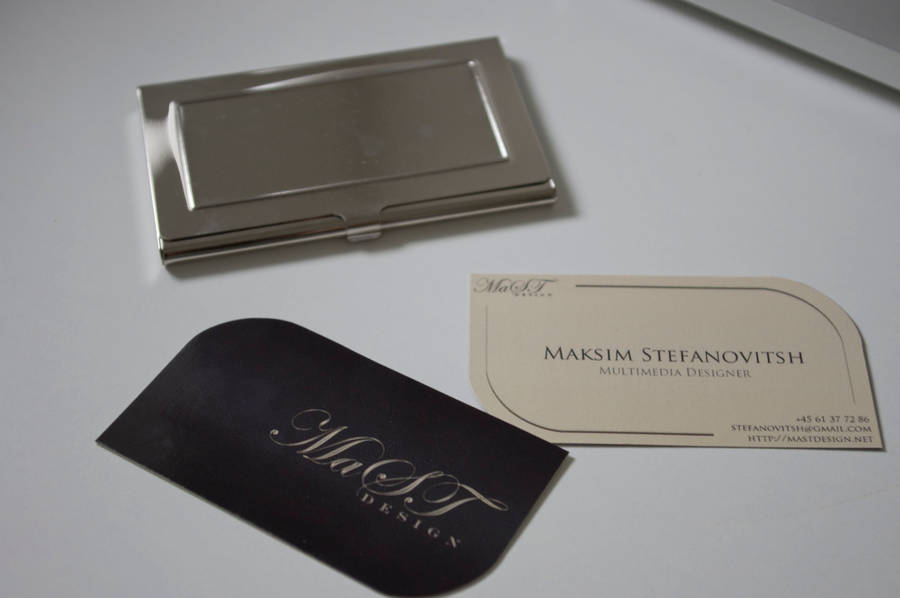 New Business Cards by mastdesign