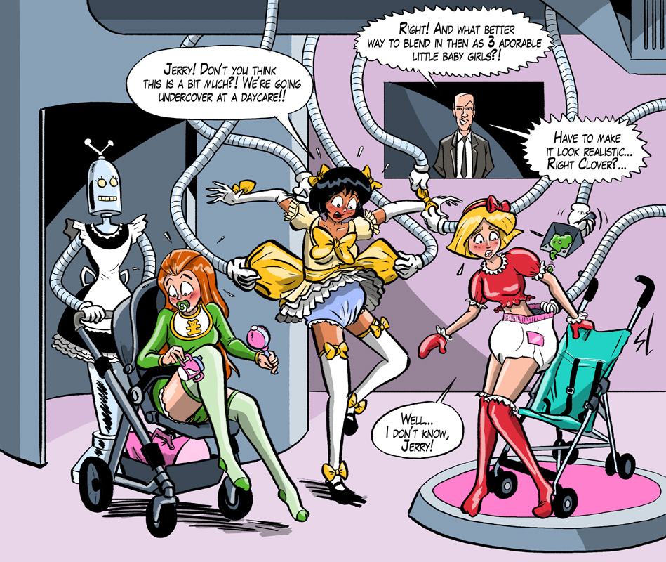Request - Totally Spies totally humiliated by HofBondage
