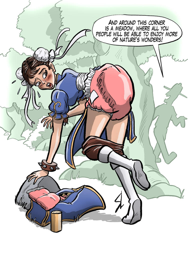 Request - Chun-Li about to be caught changing by HofBondage