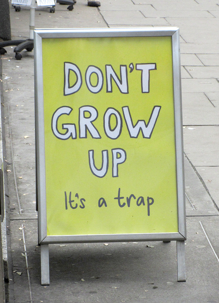 Don't grow up! by HofBondage