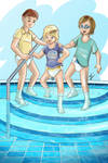 Commission - Pool day