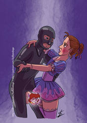 The Sissy and the Latex Guy by HofBondage