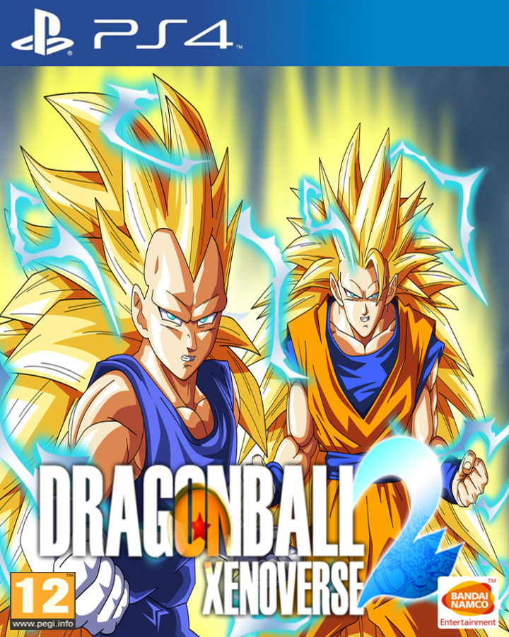 Dragon Ball Xenoverse 2 Custom Game Cover By Dragolist On
