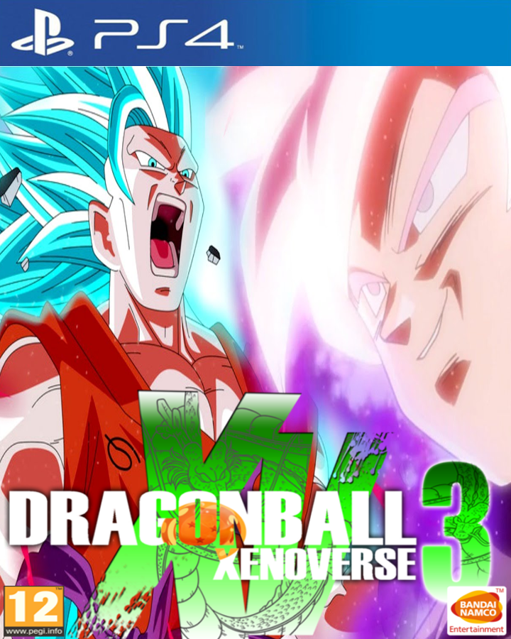 Dragon Ball Xenoverse 3 Custom Game Cover by Dragolist on ...