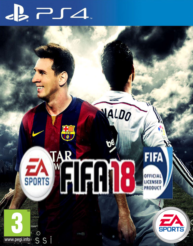 Image result for FIFA 18 Cover