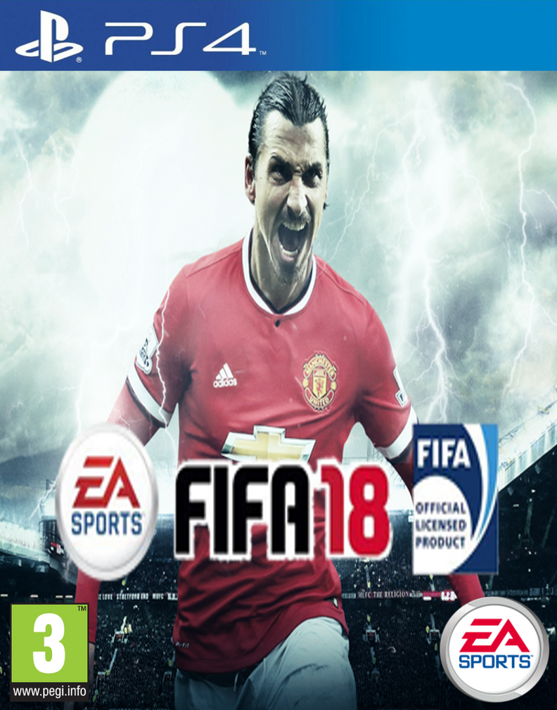 FIFA 18 Cover Design by EdwardMorris99 on DeviantArt
