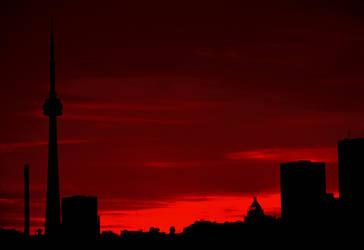 Toronto Silhouette by tupilak