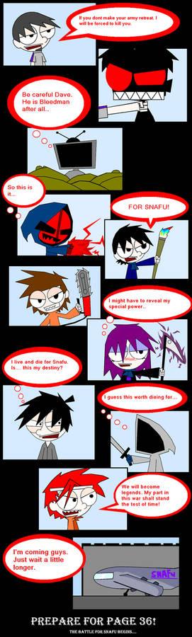 Page 35 Snafu Member Comic