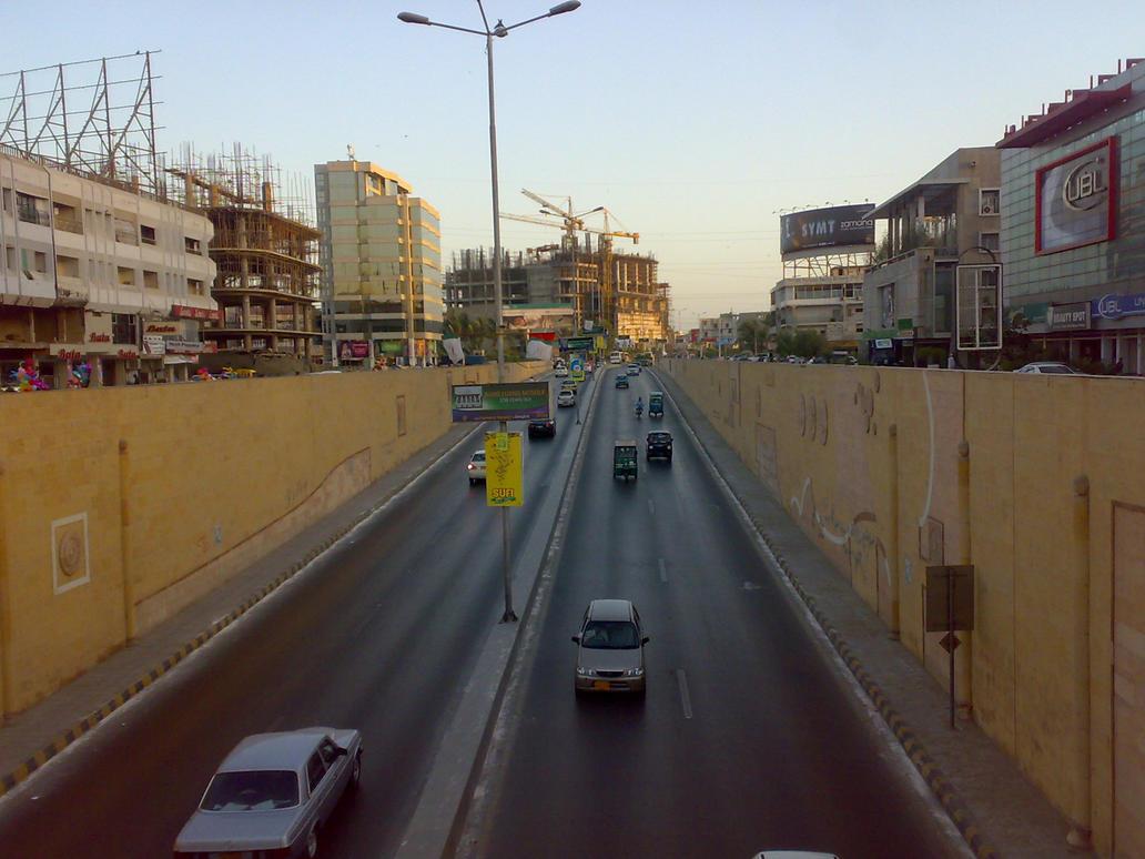 KPT Underpass Karachi by bhattee