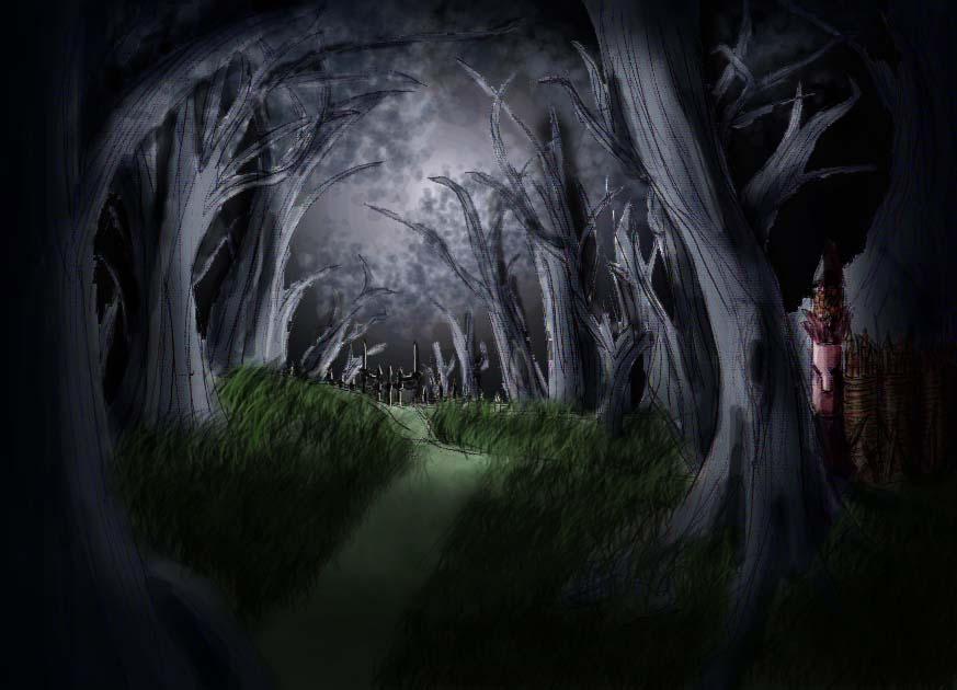 Sad Dark Woods by AlexiaAshford on DeviantArt