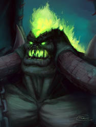 Mannoroth, The Destructor + Speed Painting