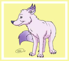 Scribble Kibble Mascot
