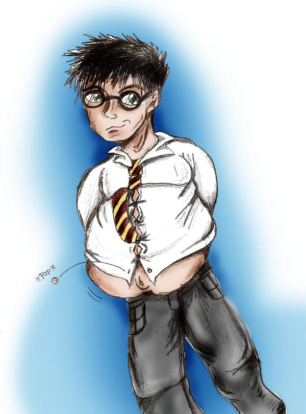 Fat Harry Potter -Color- by JellBells