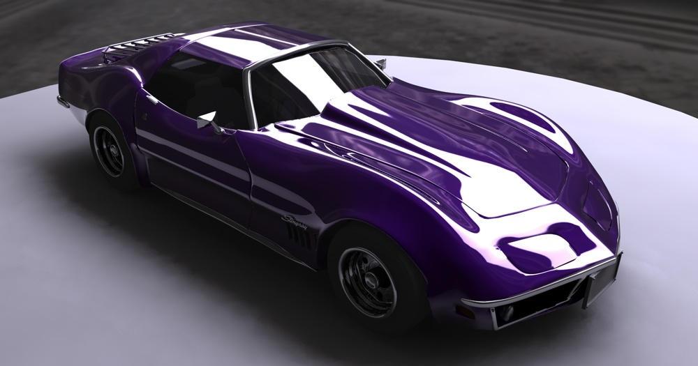 Corvette Stingray by halogen on DeviantArt
