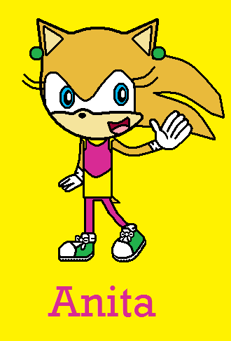 Anita the Hedgehog by ChelseaCatGirl