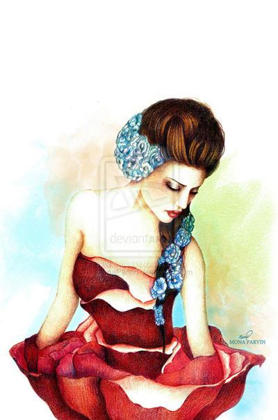 Inner Beauty By MonaParvin