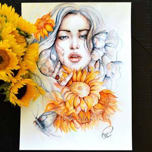 Sun Kiss by MonaParvin